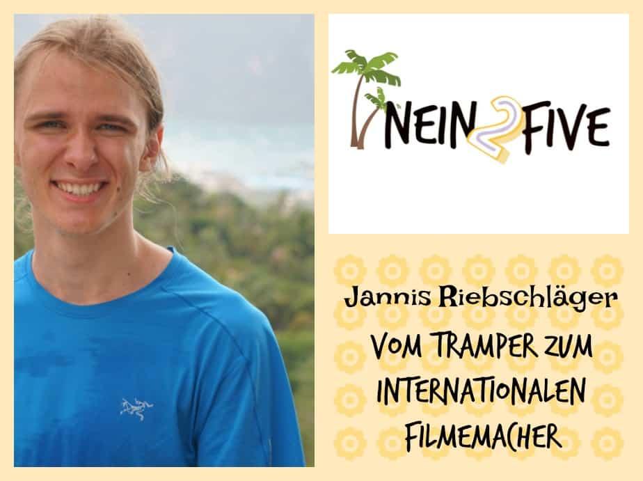 Travelpreneur Jannis Riebschläger