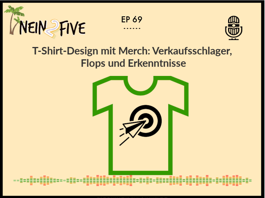 T-Shirt-Design mit Merch: Verkaufsschlager, Flops und Erkenntnisse