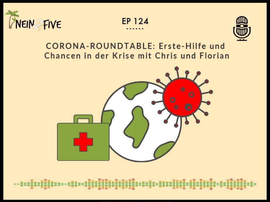 CORONA ROUNDTABLEErste-Hilfe und Chancen in der Krise mit Chris und Florian