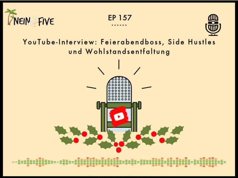 YouTube-Interview: Feierabendboss, Side Hustles und Wohlstandsentfaltung